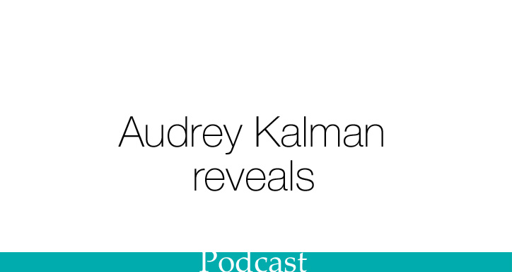 SHR Podcast with Audrey Kalman, writer